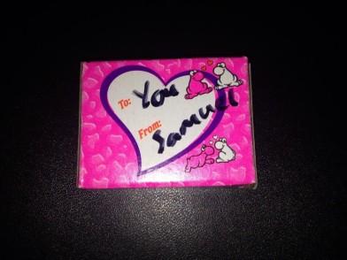 shah personalized valentine